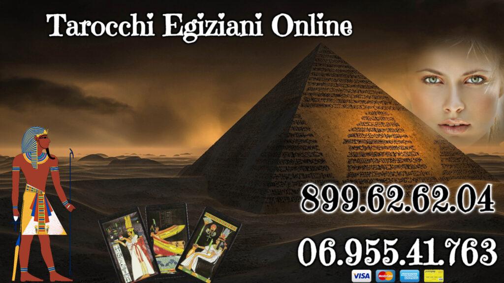 tarocchi egiziani al telefono